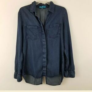 Buttons Size M Chambray Blue